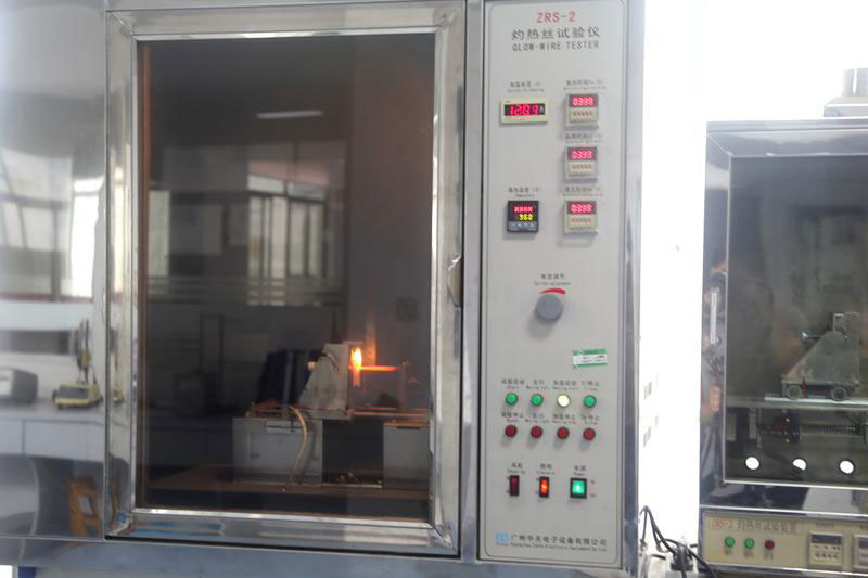 Flame resistance wire tester