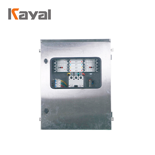 AC combiner box 6 circuit stainless steel