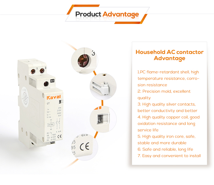 household ac contactor advantage 5
